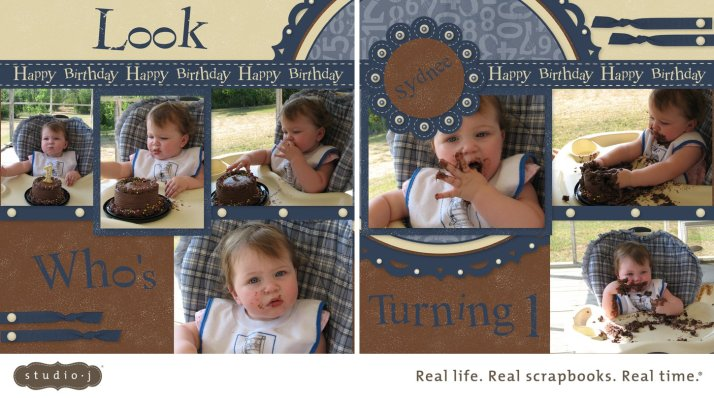 Look Who's Turning One.